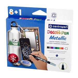Centropen Decor Pen 2737/8+1 METALLIC